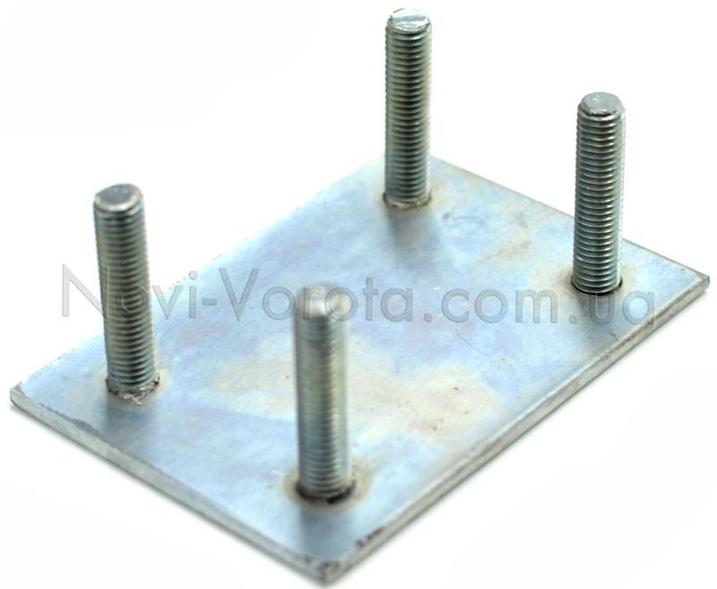 Основание регулировочной пластины с 4-я шпильками
