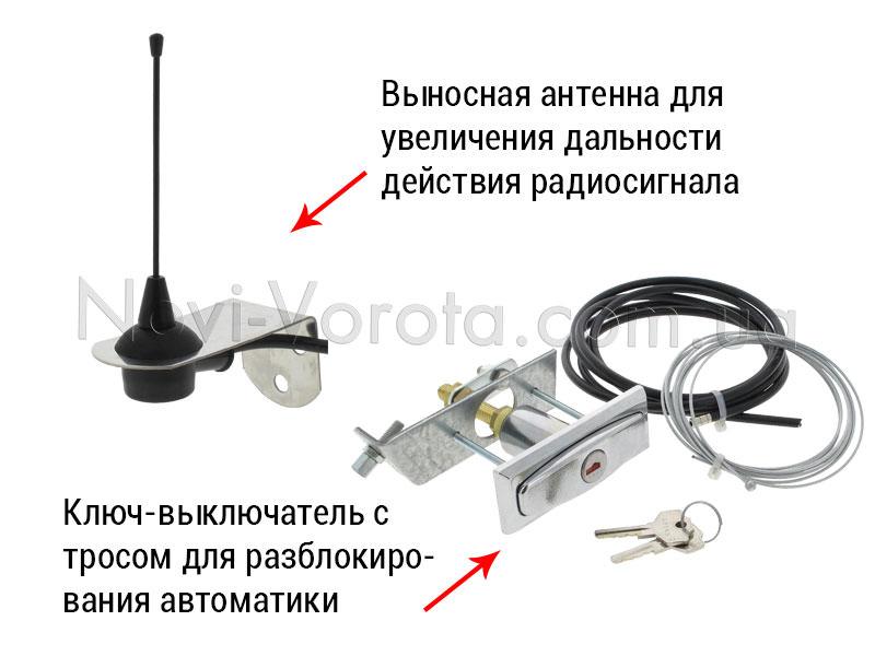 -Антенна и разблокиратор