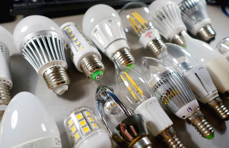 Лампы накаливания и светодиоды