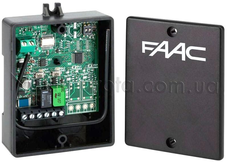 Общий вид приемника FAAC XR2-868