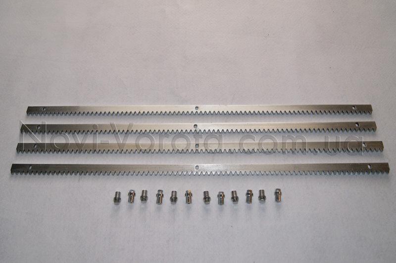 Комплект стальной зубчатой рейки