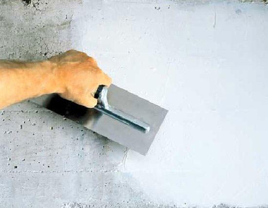Заглаживание бетона