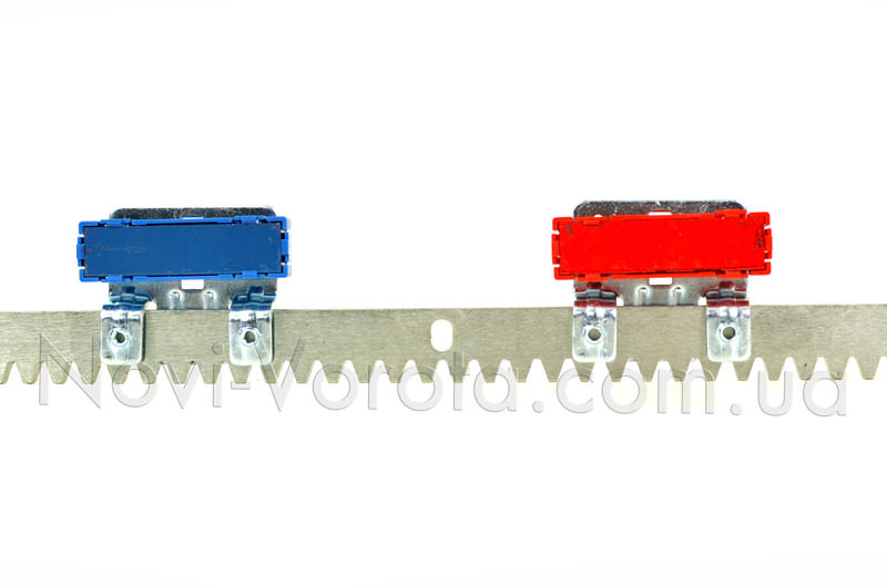 Магнитные концевые выключатели на зубчатой рейке