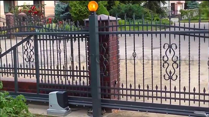 Электропривод для откатных автоматических ворот