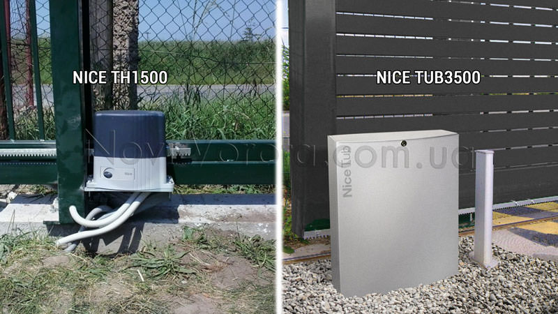 Электропривод Nice для тяжелых ворот