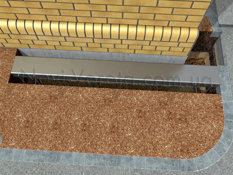 Горячекатаный швеллер перед бетонированием
