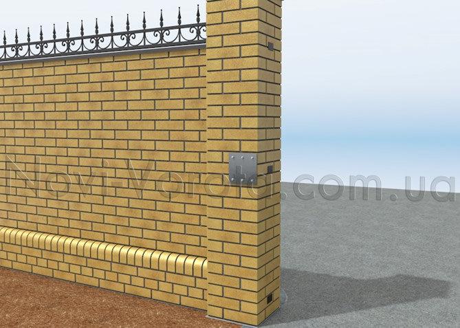 Закладные для распашных ворот