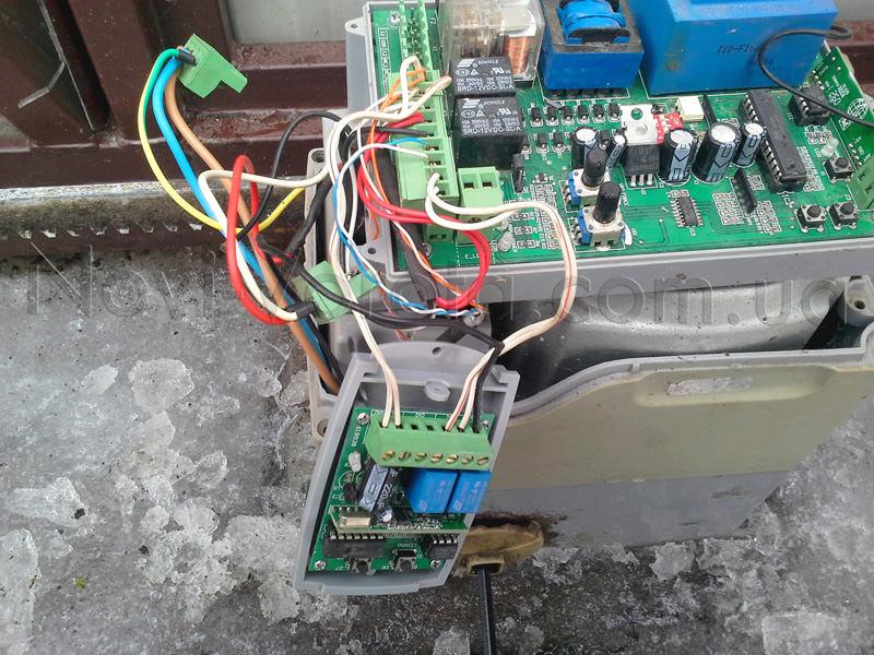 Встроенный в привод блок управления
