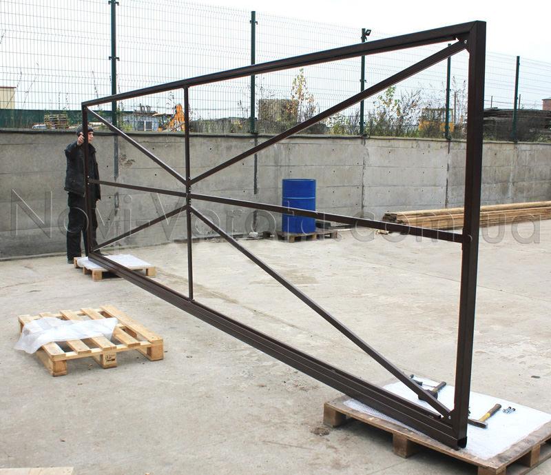 Самостоятельное изготовление ворот