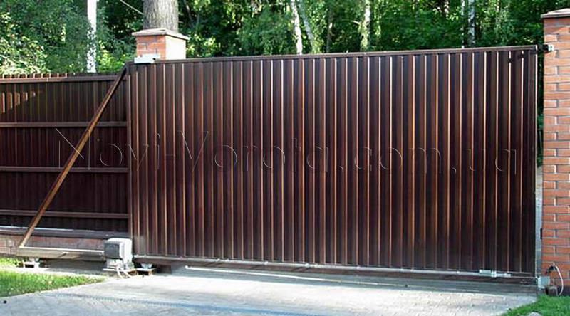 Откатные ворота: