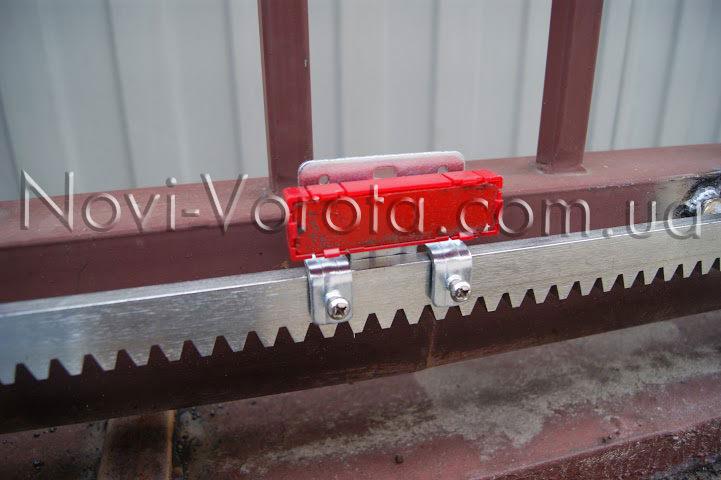 Элемент автоматического отключения привода откатных ворот