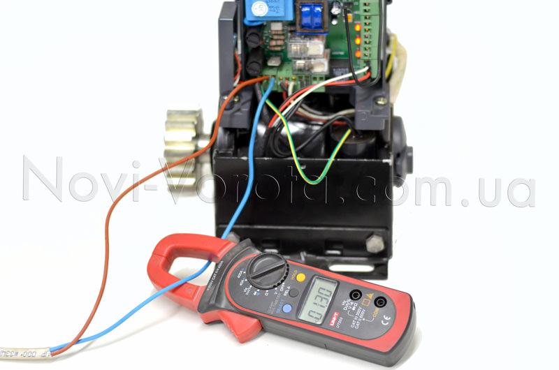 Замеры мощности электропривода