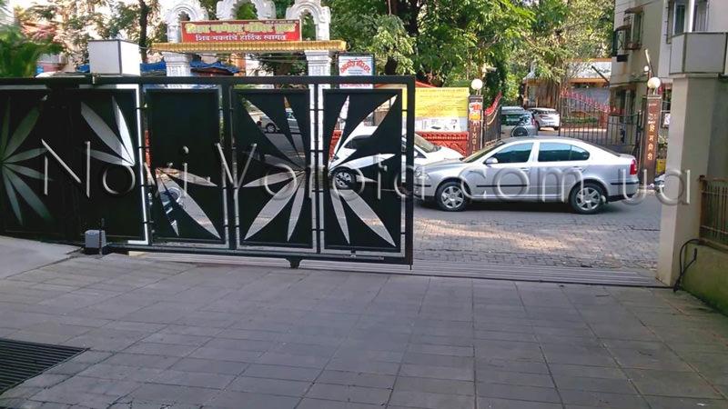 Откатные ворота бытового назначения.