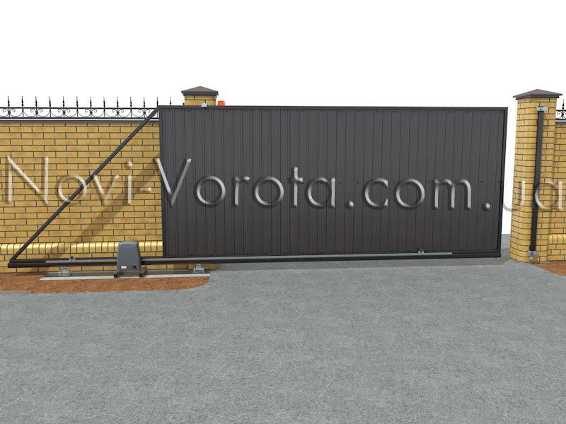 Электропривод Rotelli SL на воротах
