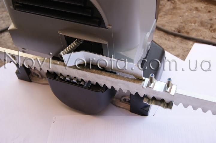 Работа механической системы концевых выключателей