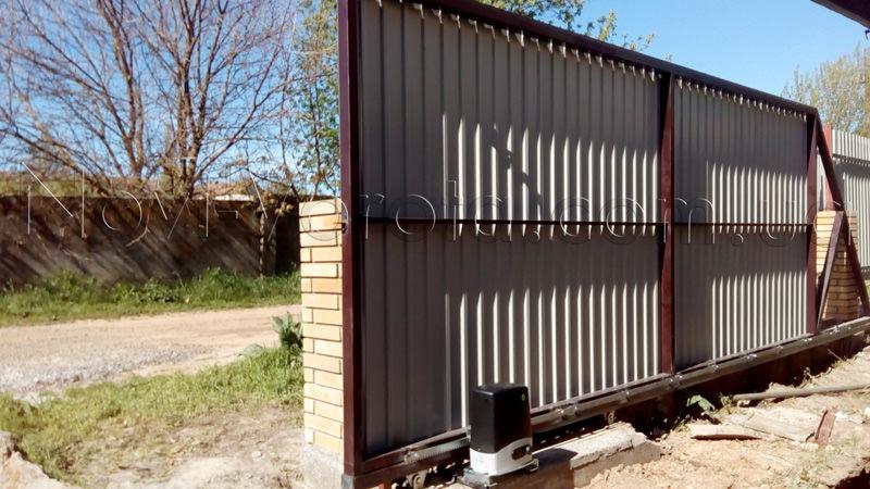 Автоматика Rotelli на воротах