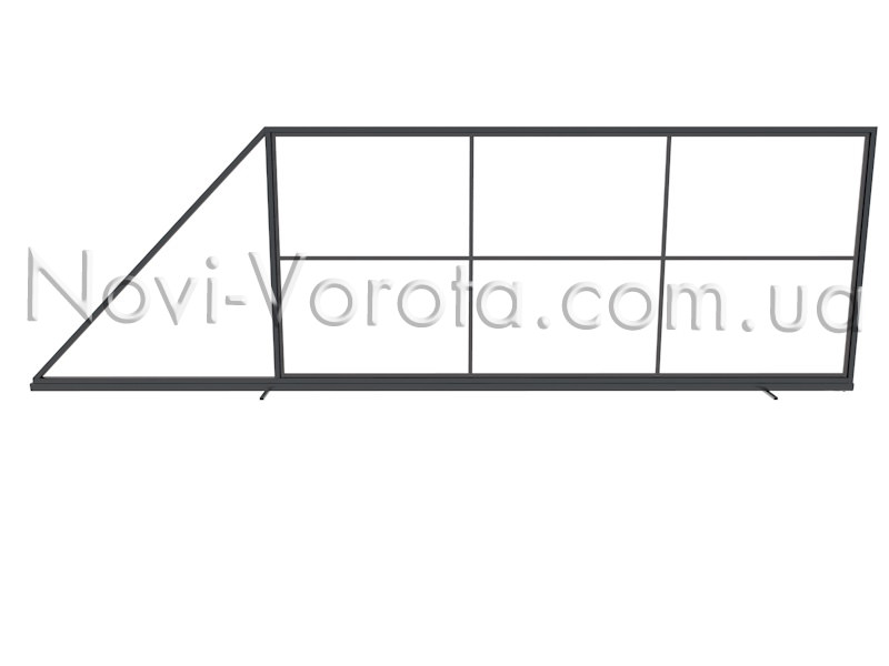 Вертикальные трубы внутреннего каркаса