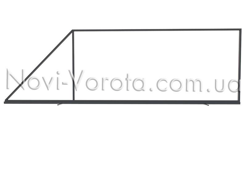 Диагональная труба несущего каркаса.