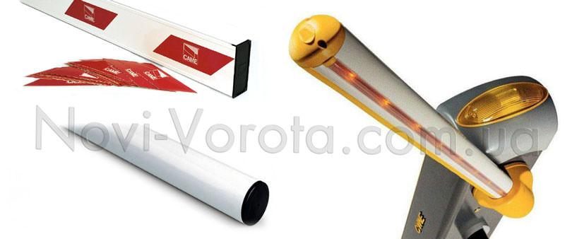 Світловідбивачі та світлодіодна стрічка на стрілі