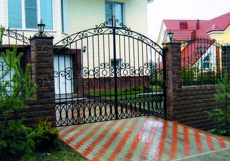 -решетчатые ворота