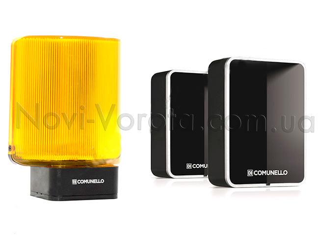 сигнальная лампа и фотоэлементы Comunello
