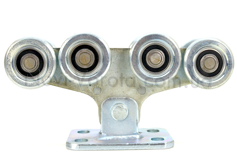 Общий вид роликовой опоры с металлическими роликами
