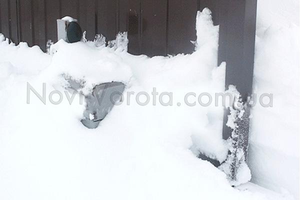 Автоматика в снігу
