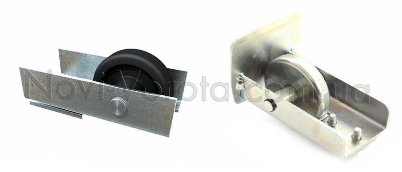 Пластиковый и стальной накатные ролики