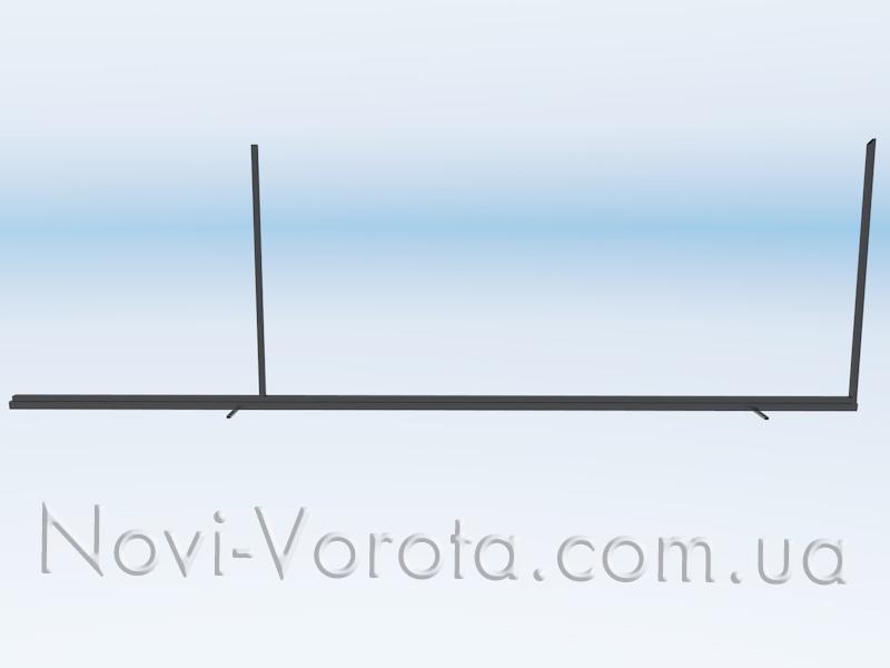 Друга вертикальна труба каркасу воріт