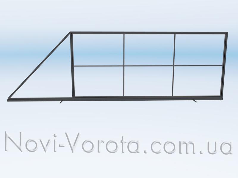 Вертикальні перетинки внутрішнього каркасу