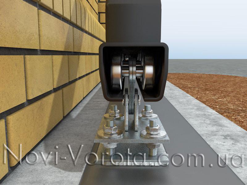 Зазор між роликами каретки і напрямною рейкою