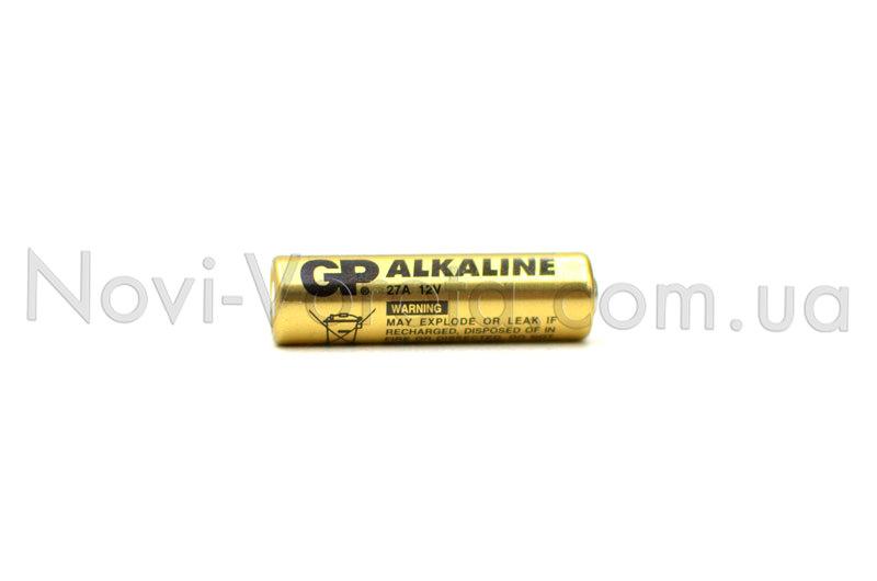 Пальчиковая батарейка 27 А, 12 В.