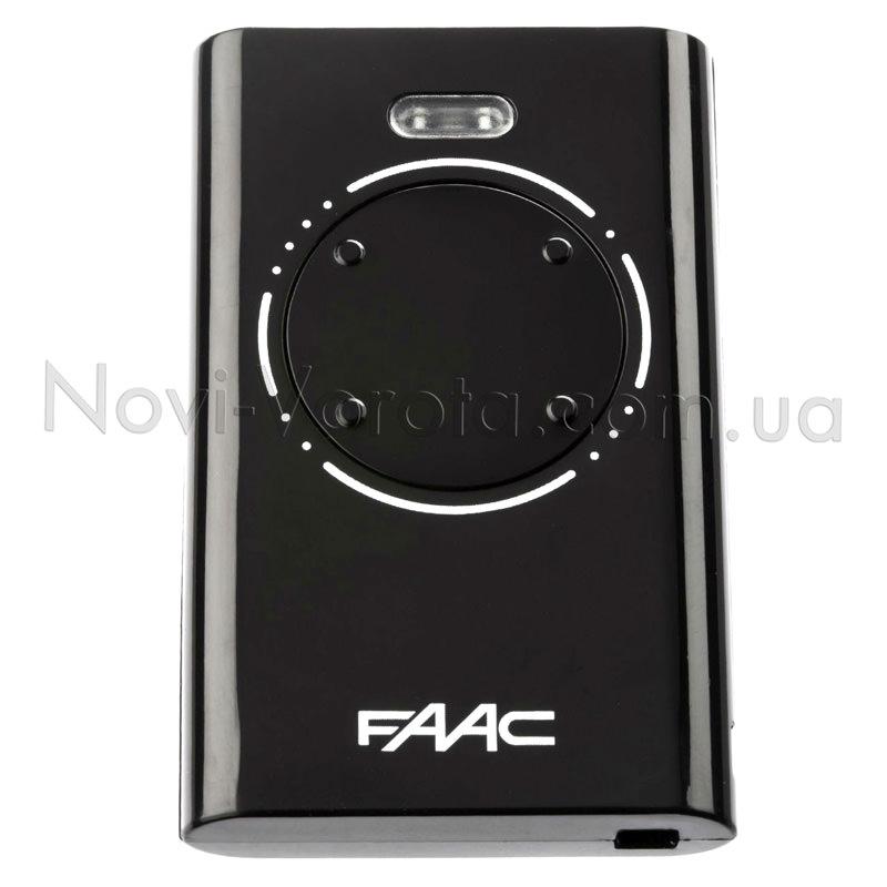 Нумерация кнопок на пульте Faac