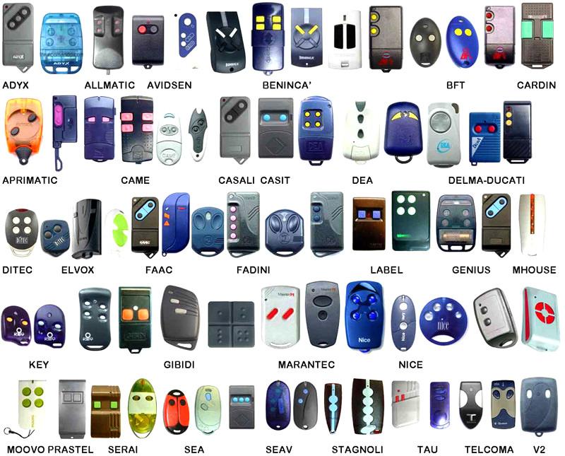 Пульты различных брендов