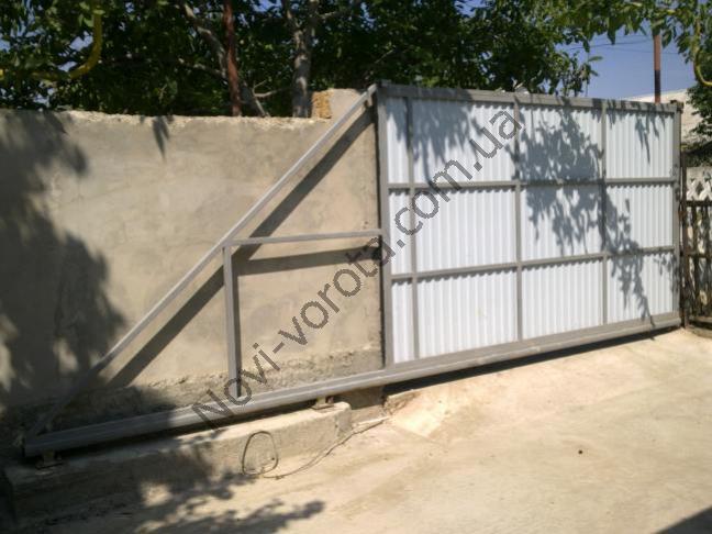 Фундамент (швеллер). Откатные ворота - схема, чертеж, устройство, конструкция, расчет, инструкция по монтажу и изготовлению