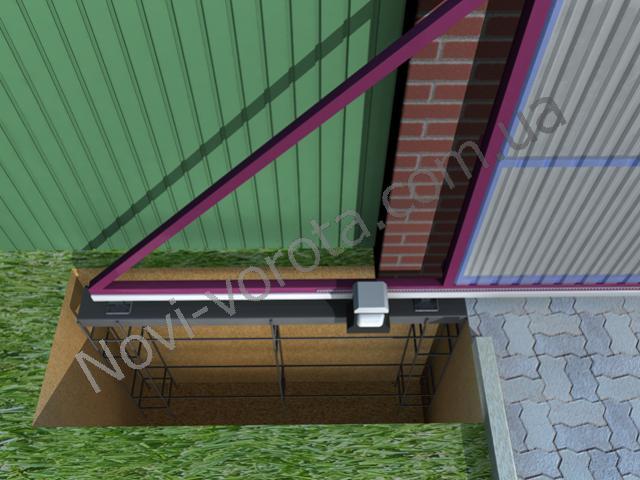 Закладная (швеллер). Откатные ворота - схема, чертеж, устройство, конструкция, расчет, инструкция по монтажу и изготовлению