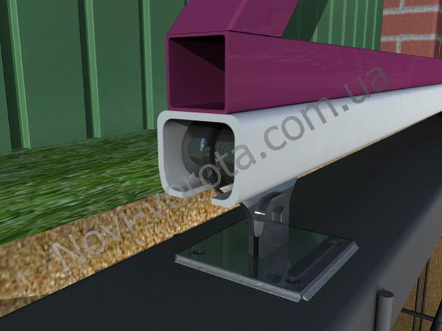 Роликовая каретка (опора). Откатные ворота - схема, чертеж, устройство, конструкция, расчет, инструкция по монтажу и изготовлению