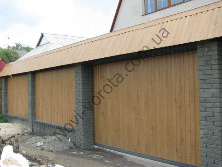 Откатные ворота своими руками - фото инструкция из города Алчевска, Луганская область