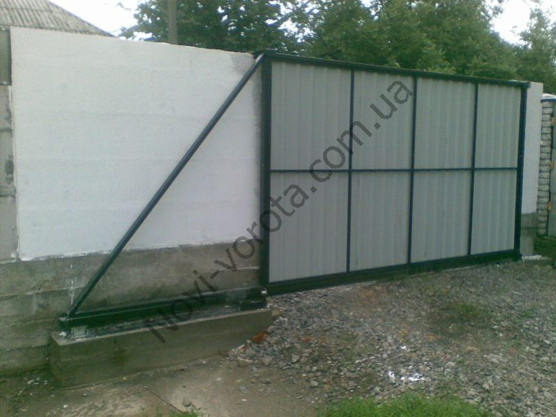 Откатные ворота: фурнитура для отктаных ворот в Черкассах