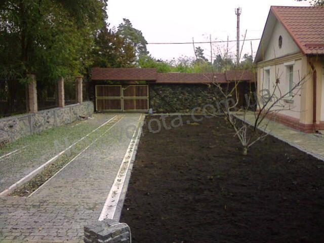 Откатные ворота фото - Ирпень, Киев