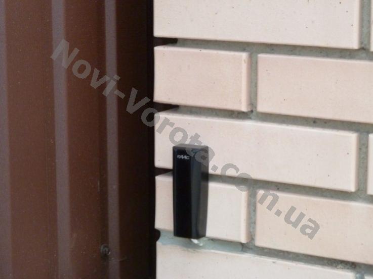 Откатные ворота своими руками Севастополь – фотоэлементы