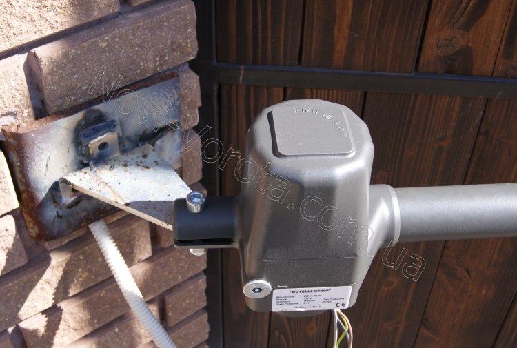 Rotelli MT400 итальянская автоматика распашных ворот
