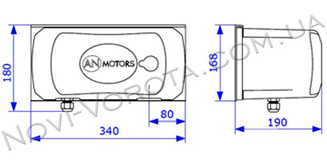 AN-Motors ASW 4000 размеры