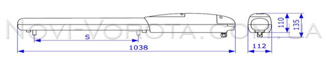 AN-Motors ASW 3000 размеры