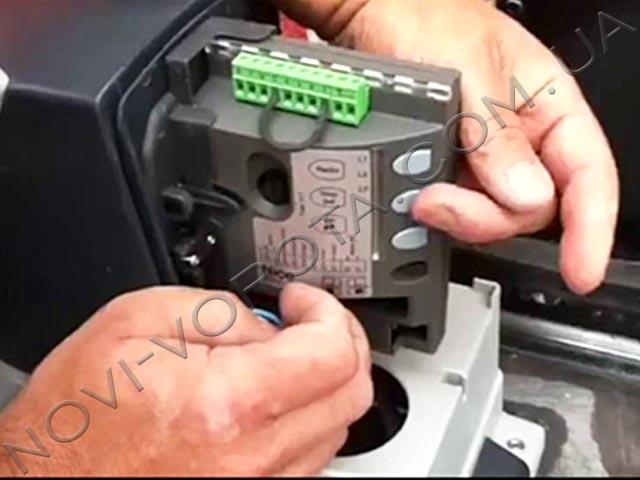 блок управления электропривода Nice