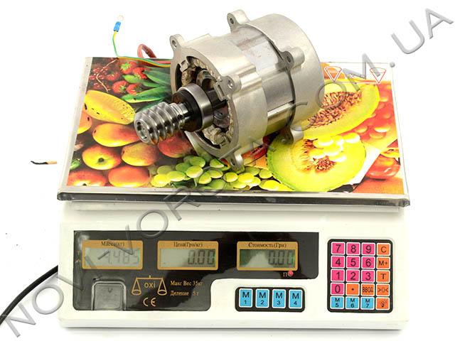 Измерение массы двигателя привода Rotelli Premium 1300