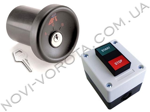 ключ-выключатель и настенный выключатель BFT