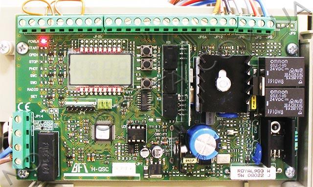 плата управления BFT ARES 1500