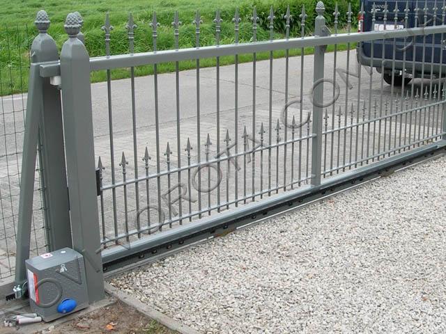 электропривод BFTDEIMOS на откатных воротах