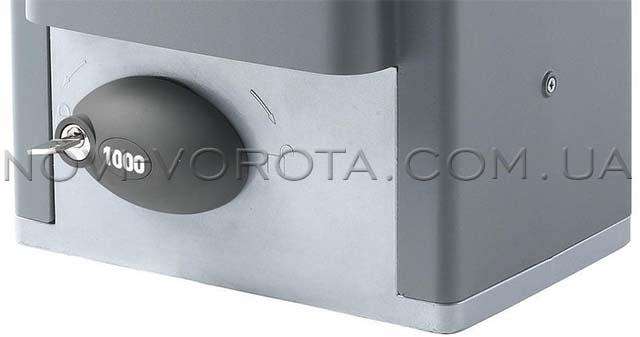 механизм ручного разблокирования BFT ARES 1500